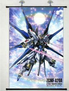 Gundam Seed Destiny Wall Poster Scroll Home Decor Cosplay