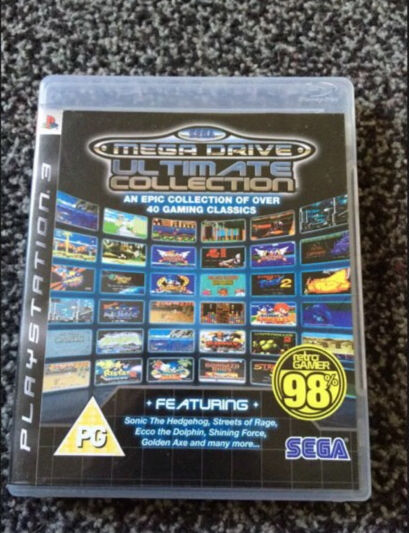 Sega Mega Drive Ultimate Collection Ps3 In Aberdare