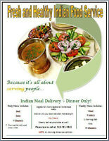 Fresh and Healthy Indian Tiffin Food Service