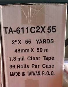 Brand New 36 x Packaging Tape 48mm x 50m - Clear
