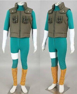NARUTO Cosplay Rock Lee costume Kostüm full set