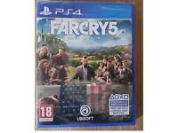 FAR CRY 5 PS4 (like new)
