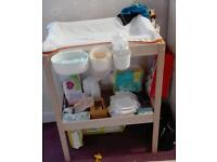 Ikea baby changing table