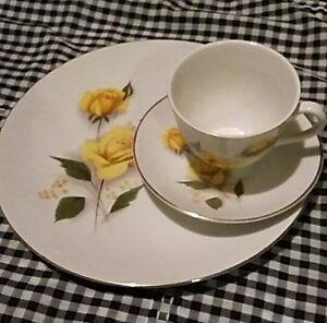 Crown Essex Royal Bouquet Boxed Dish Sets