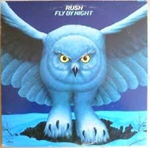 RUSH Vinyl Record Album 1975-Their 2nd Album *Rare* Fly By Night