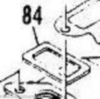 McCulloch P/N 84007 Muffler Exhaust Gasket PRO-MAC 10-10 1