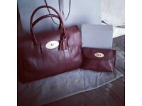 New Mulberry Oxblood Bayswater