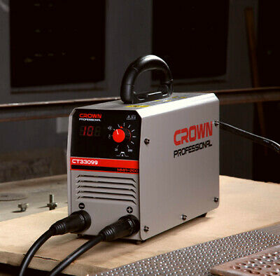 Crown Ct33099 160a Mma Welding Machine Professional 30 Portable Welder Only