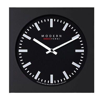 Modern Square Wall Clock Creative Design Art Wall Clock Decor Gift - P210 Black