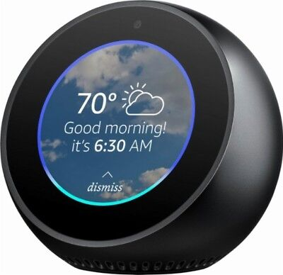 Amazon Echo Spot Voice Activated Smart Home Automation Assistant Black