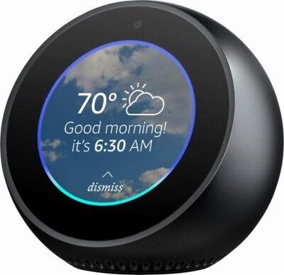 New sealed Amazon  Echo Spot - Smart Speaker with Alexa - Black