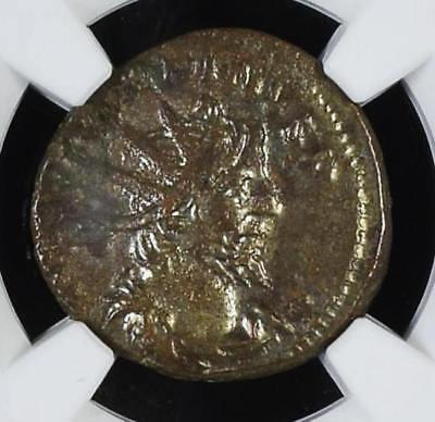 269-271 AD Historic Victorinus Antoninianus Romano Gallic NGC XF
