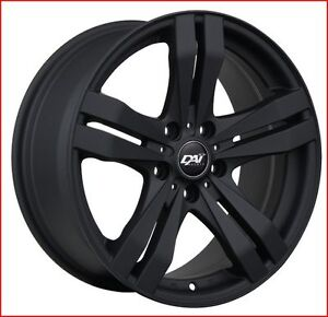 Roues (Mags) Target noir mat 16''  5-100  Toyota Corolla