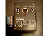 BSS AR 116 DI box passive / active