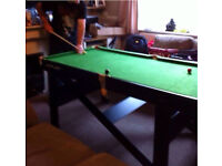 RILEY pool/ snooker table 6ft!!!