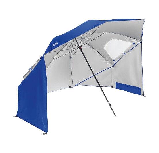 Portable Sun Shelter Umbrella Canopy Blue Quick Pop-up Shade