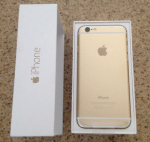 iPhone6 128GB Gold Unlocked, Mint Condition