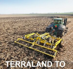 Tillage Chisel Plough | Bednar Terraland TO 5000 HM