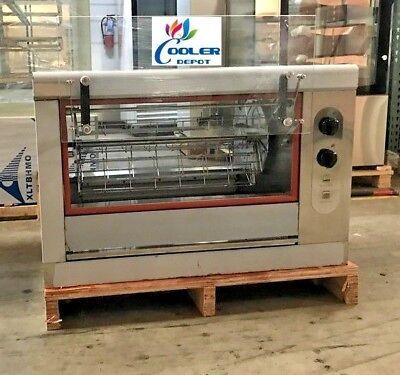New Chicken Rotisserie Machine Natural Gas Propane Restaurant Equipment Use