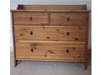 Ikea Lesvik chest of drawers