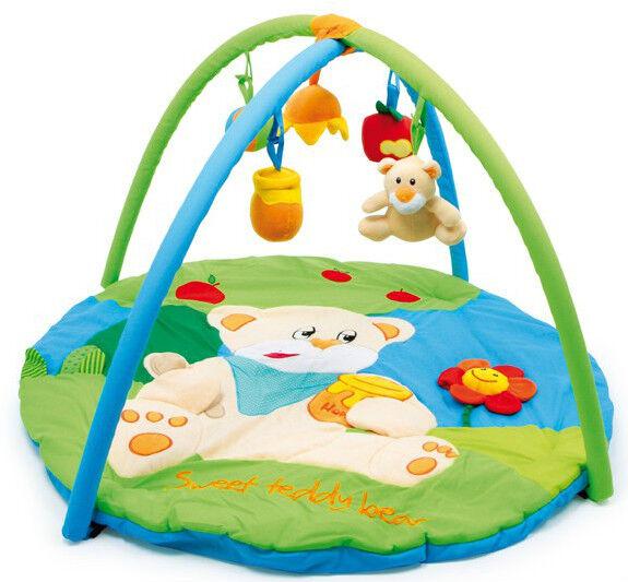 Baby Spieldecke  Spielbogen  Greifspielzeug  Babydecke Krabbeldecke
