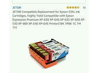 Printer ink cartridges 33xl