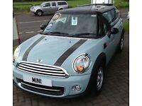 Mini Cooper 1.6 2013 reg FSH, low miles, 1 owner