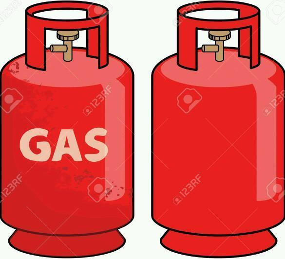 6 Or 7kg Gas Bottles Calor Only In Guisborough North