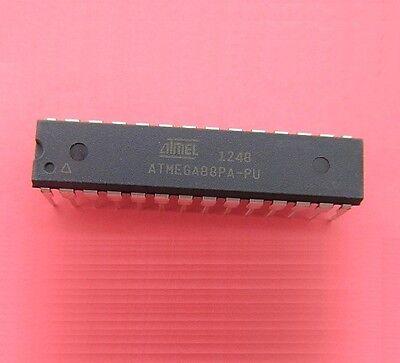 1pcs Atmega88pa Atmega88pa-pu Atmel Ic Mcu 8kb 8bit Flash Dip28