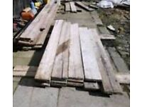 Wanted - used scaffolding boards