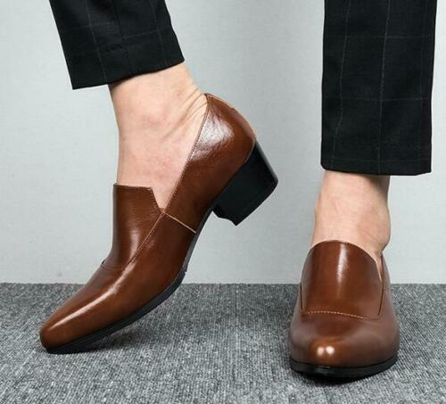 Details about  /Oxfords Men/'s Wedding Leather Pointy Toe Clubwear Shiny Business Leisure Shoes