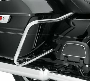 Chrome Saddle Bag Guards