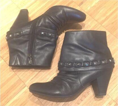 8a2e20148f656a Leder Stiefelette Tamaris Borella Gr. 39 ANTIshokk Schuhe Top in  Aschaffenburg