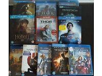 3D Blu-ray films & standard Blu-ray