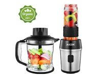 4 in 1 Personal Blender with Chopper / Smoothie Maker