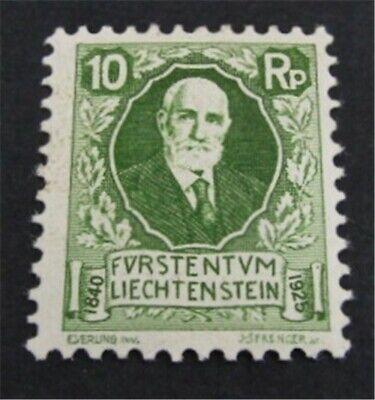 nystamps Liechtenstein Stamp # B1 Mint OG NH $127   L23y628
