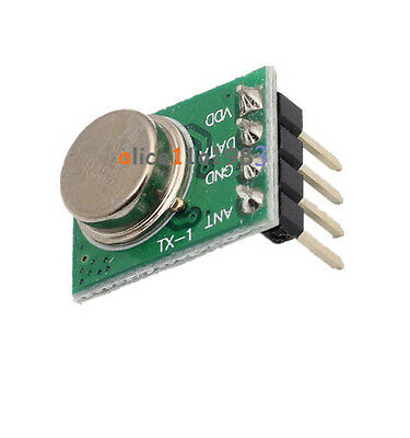 433mhz Wireless Transmitter Ask Dc 3-12v Perfect For Arduinoarmavr