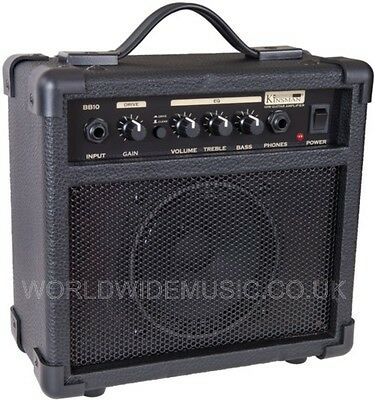 Kinsman BB10 Blaster Amp - 10 Watt Guitar Practice Amplifier / Combo Brand New!