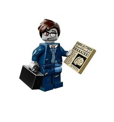 LEGO Minifigure Series 14 71010 HALLOWEEN MONSTERS - ZOMBIE BUSINESSMAN - Halloween Businessman