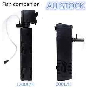 1200L/H Aqua Fish Tank Aquarium Internal submersible Water Power Filter