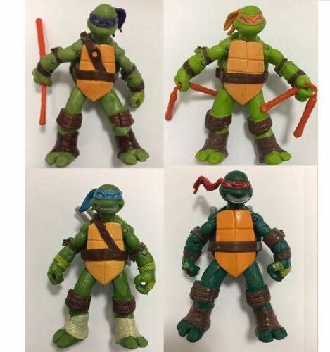 Teenage Mutant Ninja Turtles 4pcs Action Figure Collection Movie Toy Kids Gift