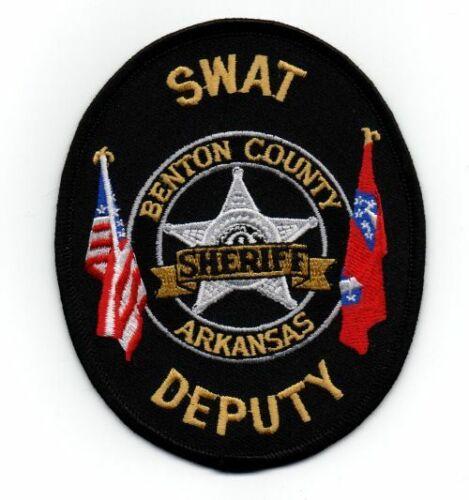 BENTON COUNTY SHERIFF ARKANSAS AR SWAT NEW PATCH POLICE