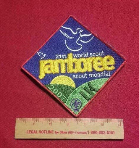 2007 Official Jamboree Backpatch World Jamboree