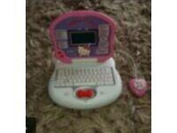 Hello Kitty Mini Laptop