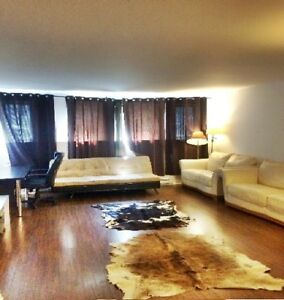 Luxury ROOM OR WHOLE NEW CONDO Furnished 5 min from Downtown