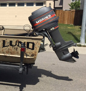 45 HP Mariner Outboard