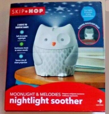 NEW Skip Hop Moonlight & Melodies Nightlight Soother Owl