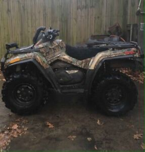 2007 CanAm 800Twin