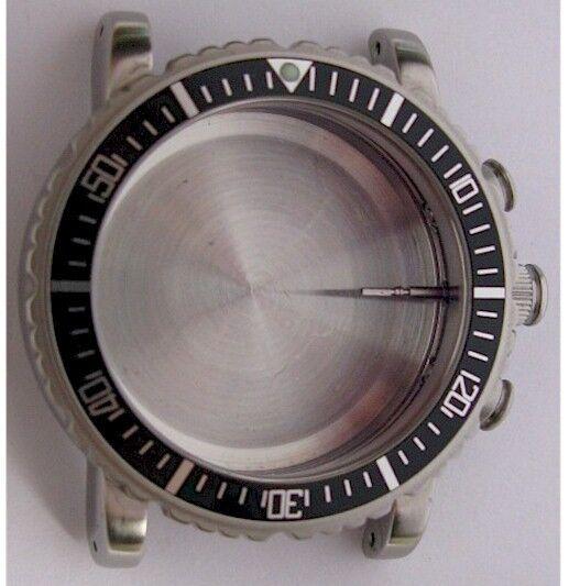 New Zenith El Primero Chronograph Rainbow Watch Case 01-02 0470 405 In S. Steel