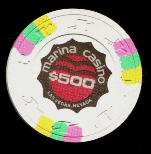 $500 Las Vegas Marina Casino Chip - Uncirculated
